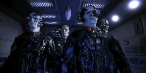 Rumors are unconfirmed that the Borg was inspired by the Democrat voter base.