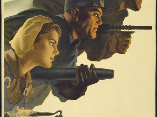 WWIIposterattackonallfronts
