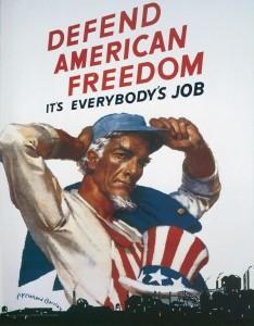 WWIIposterdefendfreedom