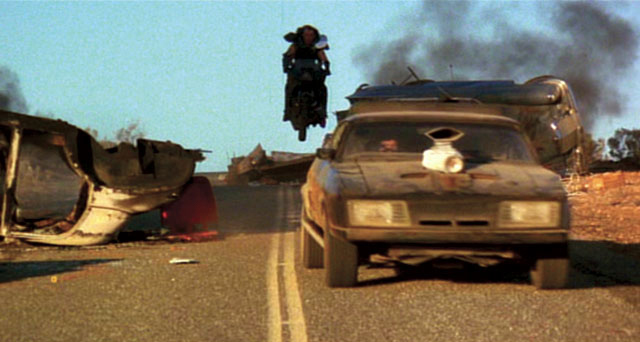 Mad Max cannonballs through the wasteland in a world devolving back to the Iron Age.