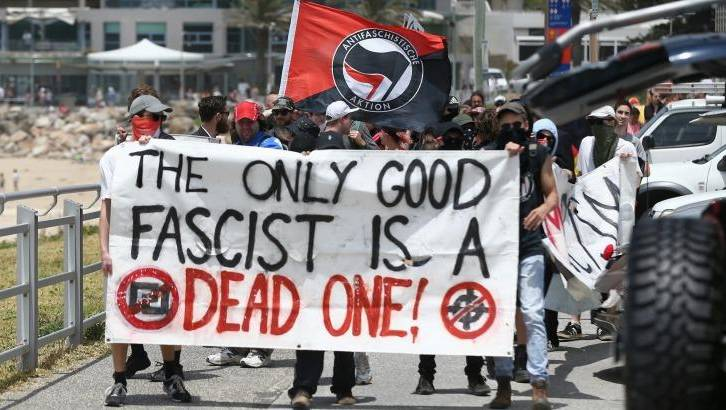 """""""And anybody who disagrees with us is a fascist!"""""""